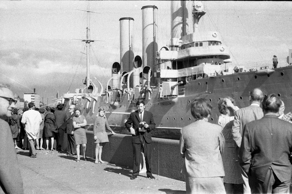 TSO darbuotojų ekskursija į Leningradą 1969 m.
