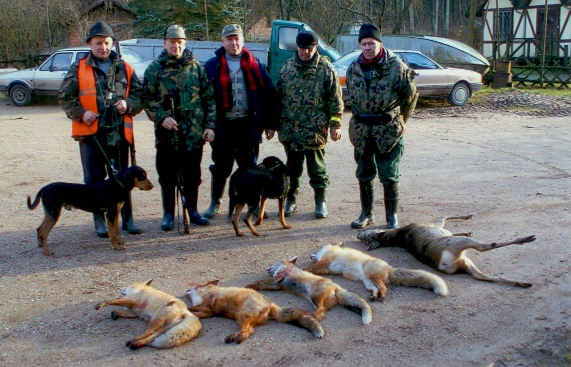 Medžiotojai Gargžduose ir aplink Gargždus
