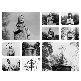 M Sakalausko fotografijose – menas Gargždų kapinėse
