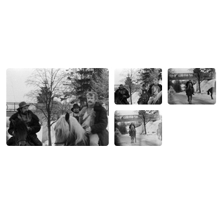 Tado Blindos filmo kurėjų vizitas Gargžduose